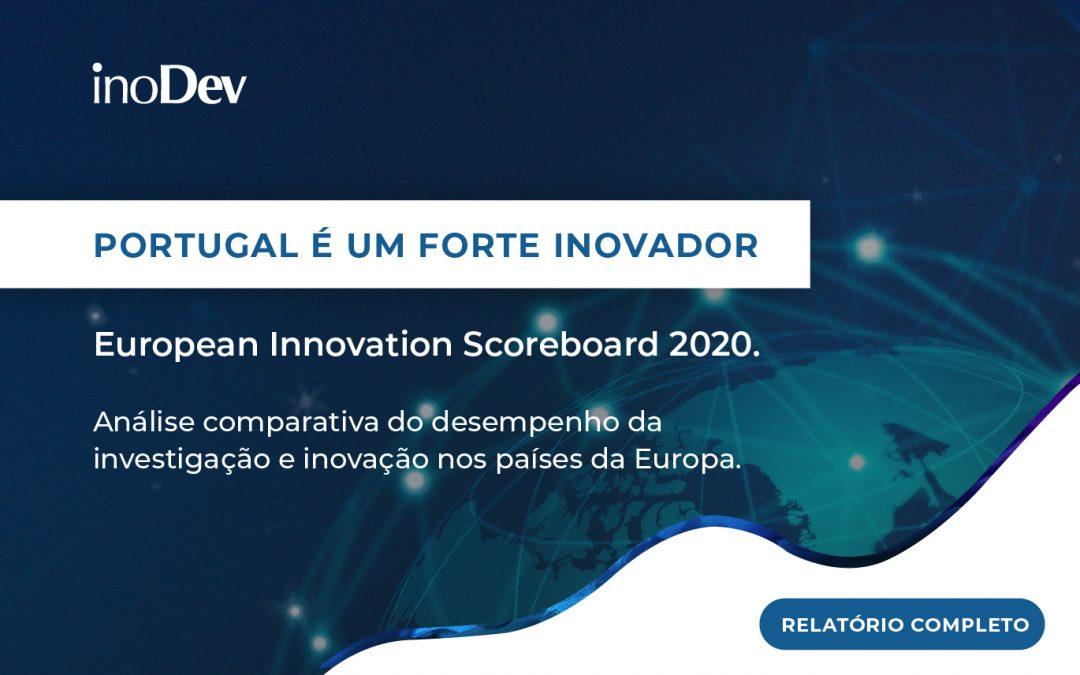 Portugal é um forte inovador – EIS 2020